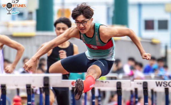 王珞僖同學獲得110米跨欄學界冠軍及青奧銅牌。